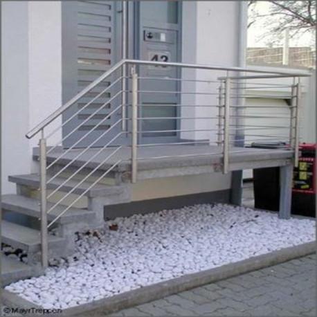 Granit Pflasterplatten Griys hellgrau geflammt 6 cm dick 60 x 40 cm