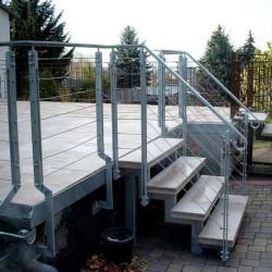 Granit Pflastersteine Kollane Gelb gespalten