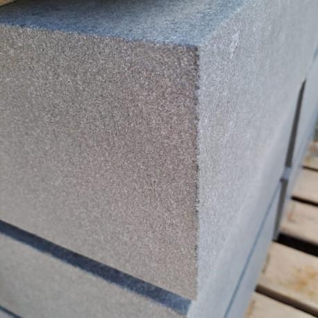Granit-Pflaster Kyrill Grau gerumpelt