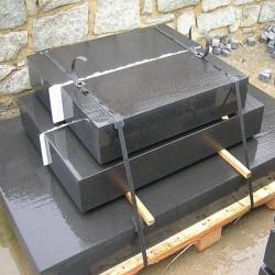 15 x 35 CM Sandstein Blockstufen Verdico Grün