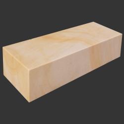 Granit Blockstufen Griys hellgrau 15 x 45 cm geflammt