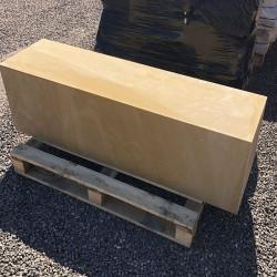 Granit Sichtschutz Elemente grau 10 x 50 cm