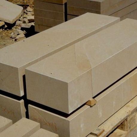 100 cm lange Basalt Blockstufen 18 x 35 cm geflammt