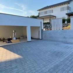 Pyramiden Granit Pfosten Hellgrau 25 x 25 cm