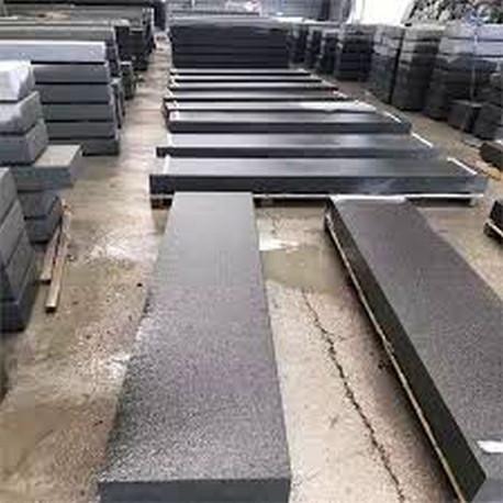 Sandstein-Blockstufen Mapula Rot 18 x 35 cm geschliffen