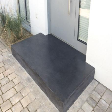 Granit Podest Platten Griys hellgrau 18 cm 150 cx 150 cm