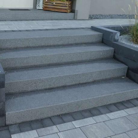 Sandstein Mauerabdeckplatte Alba Weiß 3 cm
