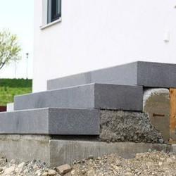Sandstein Mauerabdeckplatte Mapula rot 3 cm