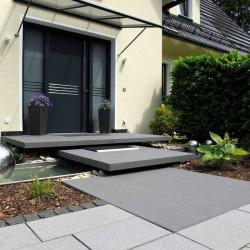 Sandstein Quader Farin gelb beige 40 cm hoch gespalten 40 cm tief freie Längen