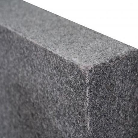 Granit Mauersteine Griys Hellgrau 30 cm hoch Fixlängen gesägt