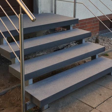 Schlossmauersteine Granit Griys 20 cm tief