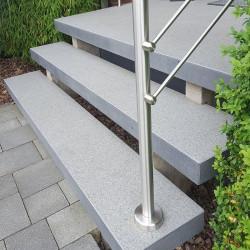 Sandstein Verblendmauer Steine Alba weiß 2-3 cm stark Format 30 x 15 cm