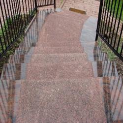 Sandstein Mauerabdeckplatten Gobi Gelb 3 cm stark mit Wassernase