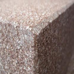 Sandstein Mauerabdeckplatten Gobi Gelb 3 cm stark mit Wassernase Grundfarbe
