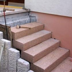Sandstein Mauerabdeckplatten Gobi Gelb 3 cm stark mit Wassernase 36 cm breit