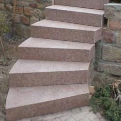 Sandstein Mauerabdeckplatten Gobi Gelb 3 cm stark mit Wassernase freie Längen
