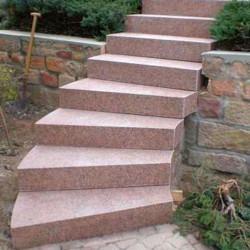 Granit Terrassen Platten Griys Hellgrau 3 cm geflammt