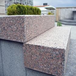Sandstein Terrassenplatten Alba Weiß 3 cm