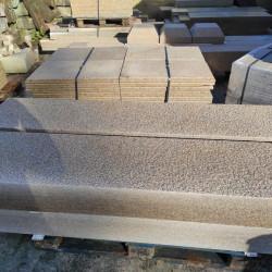 Sandstein Terrassenplatten Verdico grau grün 3 cm stark geschliffen