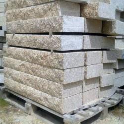 Granit Terrassenplatten Griys hellgrau 3 cm geflammt