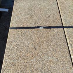 150 cm lange Granit Palisaden Griys hellgrau 8 x 20 cm
