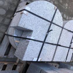 Granitpflaster Raudona Rot gerumpelt