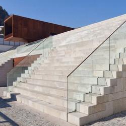 Antike Granit Terrassenplatten 5 cm stark Gehwegplatten