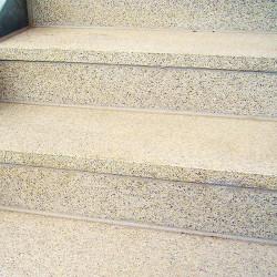 Granit Griys Sicht und Windschutzelement 10 x 50 cm gesägt und geflammt Blickschutz zum Nachbarn