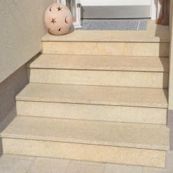 Gneis Brocken Gold Silber Schwarz Körnung 16 - 32 mm