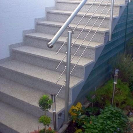 Granit Brücke Griys Hellgrau 300 x 100 x 15 cm