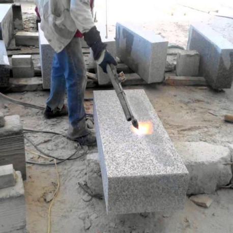 Straßenpoller Diana Granit Griys hellgrau 30 x 30 cm