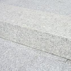 Granit Mauer Abdeck Platte Griys 3 cm