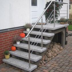 Granit Pflaster Saga light gespalten lose